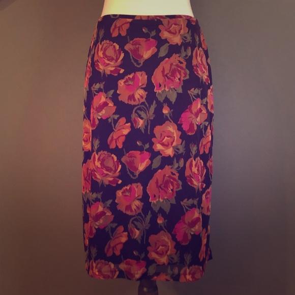 Express Dresses & Skirts - Express Floral Skirt